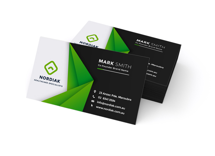 Business Cards – Standard One-Sided