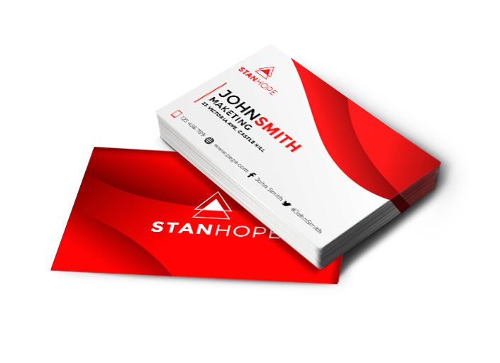 Business Cards Glossy Double-Sided