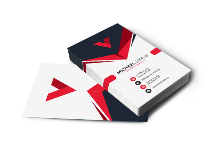 Business Cards Matt Cello Double-Sided