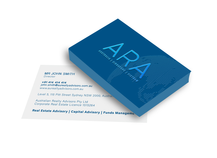 Business Cards Spot UV Double-Sided