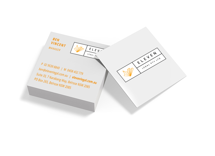 Business Cards – Square Double-Sided